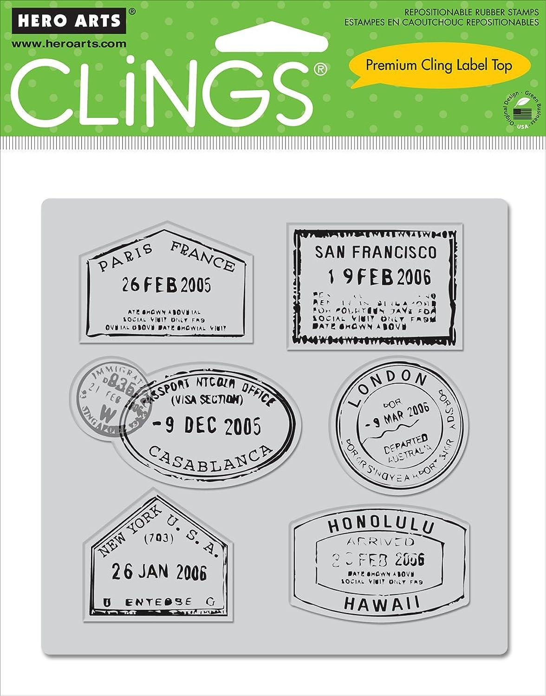 Hero Arts Cling Set, Take A Trip B0058VAD80 | Hohe Hohe Hohe Qualität und geringer Aufwand  90ace1