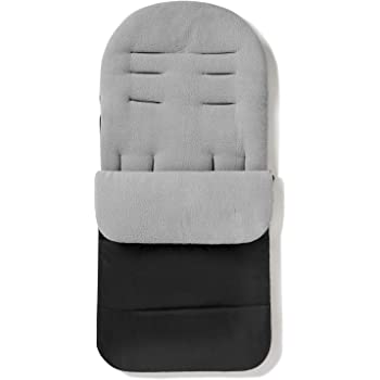 Universal Obaby Footmuff Cosytoes Black Fits Most Puschair Brands