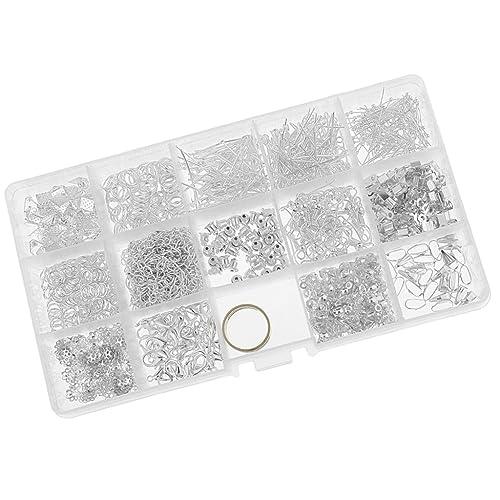 MagiDeal Bijoux Créatif Boîte Kit Set Fourniture Artisanat DIY Fabrication De Bijouterie Artistique - Argent