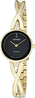 Citizen Women's Eco-Drive Goldtone Silhouette Bangle Watch