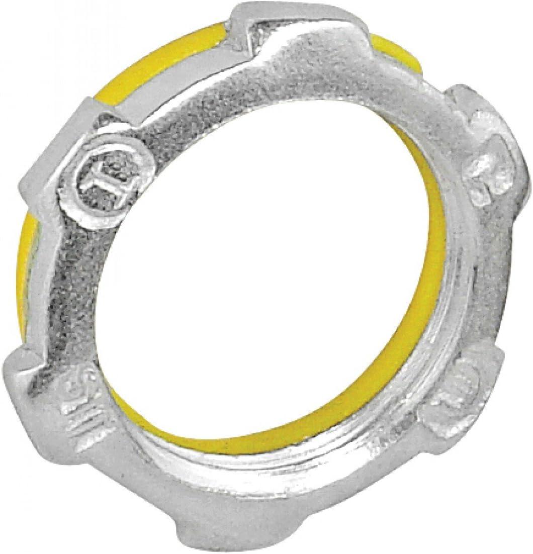 2 Pcs Max 55% OFF 3-1 in. Rigid Sealing for Zinc Locknut Steel Ex Super Special SALE held Plated