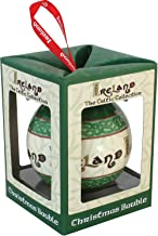 Celtic Collection Christmas Bauble With Irish Blessing