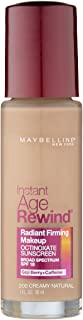 Maybelline Instant Age Rewind Liquid Foundation - Creamy Natural 200,30ml