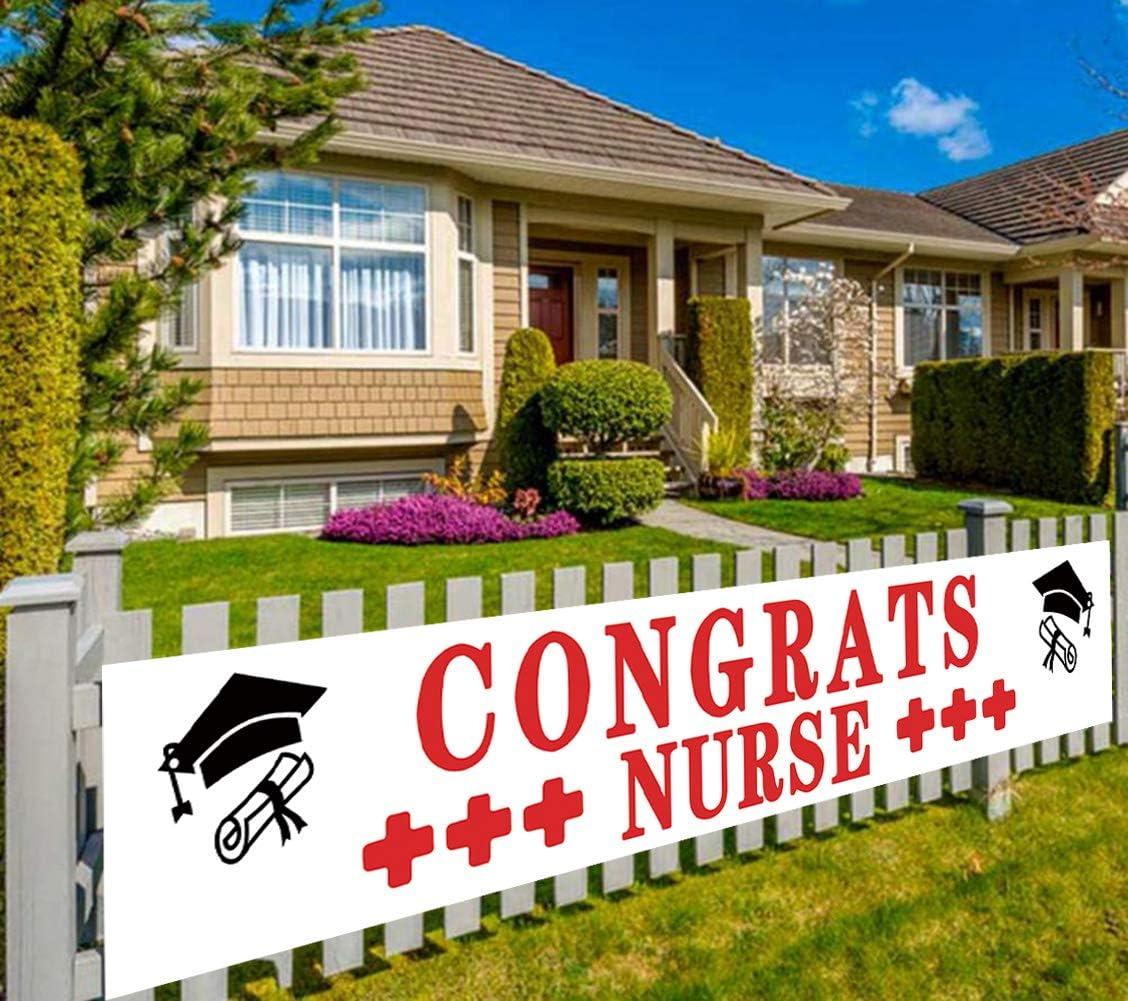 Large Congrats Max 64% OFF Nurse Graduati Banner Max 48% OFF Sign