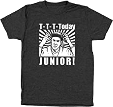 T-T-T-Today Junior Funny Billy Madison Reading Tri-Blend Mens Shirt