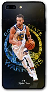 iPhone 8 Plus Case,iPhone 7 Plus Case,Golden State Curry Fashion Protective Shockproof Anti-Scratch Soft Bumper Case for iPhone 7/8 Plus (Golden State Curry)