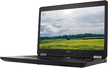 "Dell Latitude E5470 14"" Laptop, Core i5-6300U 2.4GHz, 8GB RAM, 128GB Solid State Drive, Windows 10 Pro 64Bit (Renewed)"