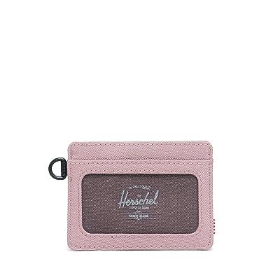 Herschel Supply Co. Charlie ID RFID (Ash Rose) Wallet Handbags