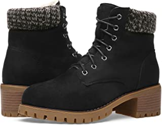 Orkii Winter Boots for Women Over Round Boots Comfortable Closed Pointed Toe Snow Ankle Booties