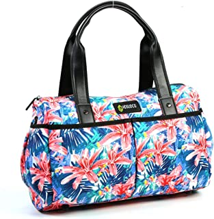 8e11ef7f968e Yoga Tote Gym Weekender Duffels Travel Bag with Multi-Functional Storage  Pockets