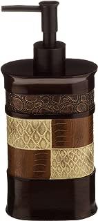 Popular Bath FBA_738980713138 Soap Dispenser/Lotion Pump, Zambia Collection, Beige