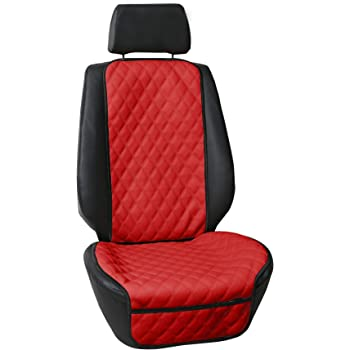 Universal Fit for Cars Black FH Group FH1018 Faux Leather Seat Protectors Font Set with Gift Trucks /& SUVs