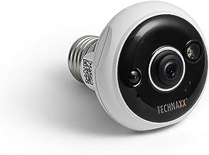 Technaxx 4583 Easy FullHD lamphouder E27 TX-58 bewakingscamera wit