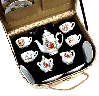 Beatrix Potter Tea Set Peter Rabbit & Friends By Reutter Porcelain - Medium