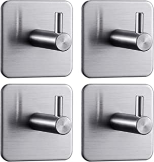 Best small sticky wall hooks Reviews