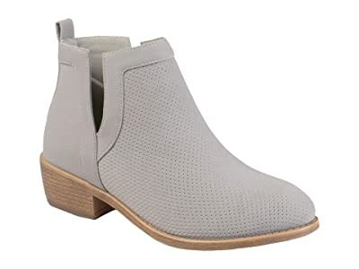 Journee Collection Lainee Bootie (Grey) Women