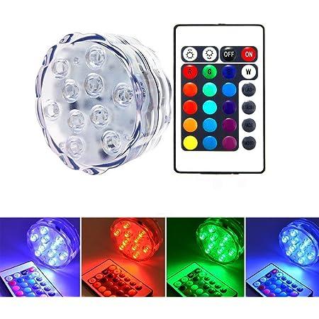 LED Wasserkerzen Unterwasserlicht Farbwechsel