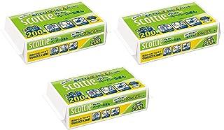 【まとめ買い】 スコッティ ペーパーふきん サッとサッと 400枚(200組) ×3個セット