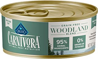 Blue Buffalo Blue Carnivora Woodland Blend Optimal Prey Nutrition Grain Free Mature Wet Cat Food
