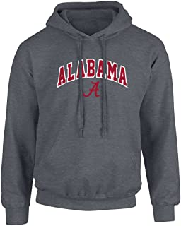 NCAA Mens Dark Heather Arch Hoodie Sweatshirt