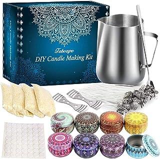Kits de Fabrication de Bougies, Anself Kit Fabrication Bougies Parfumées, DIY Bougies, Kit Bougie Convient Aux débutants O...