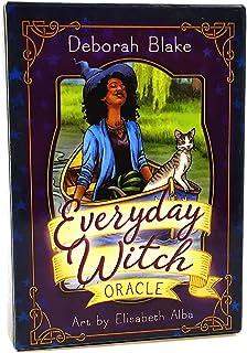 タロットかーど かわいい オラクル Everyday Witch Oracle Cards english タロット占いカード 初心者