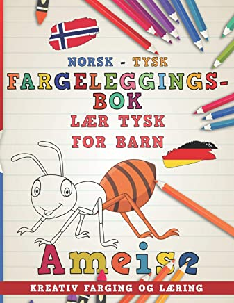 Fargeleggingsbok Norsk - Tysk I L