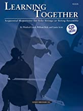 التعلم مع ً ا: متتابعة مجموعة لهاتف بمفرده أو أقواس أو سلسلة أنثوية (Violin) ، كتاب & CD