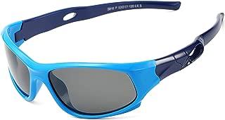 AZORB Sports Polarized Kids Sunglasses TPEE Rubber...