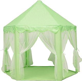 Lektält, lektält hopfällbart hållbart bärbart stort barn tipi-tält för hemmet