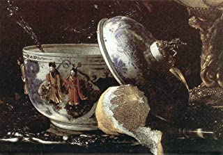 Still-Life with a Nautilus Cup Detail #1 by Willem Kalf - 21