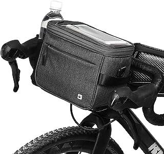 comprar comparacion Selighting Impermeable Bolsa de Manillar de Bicicletas de Carretera y de Montaña para Ciclismo, Incluye Correa para el Hom...
