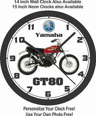 amazon 1968 suzuki tm250 motocross bike wall clock free usa Honda 90Cc Motorcycle 1979 yamaha gt80 motorcycle wall clock