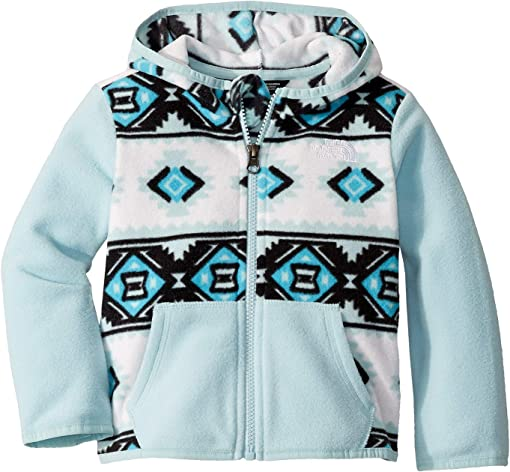 TNF White Mini Tribal Geo Print
