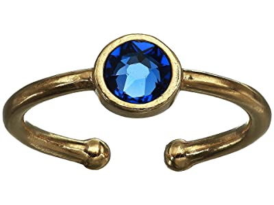 Alex and Ani September Birthstone Adjustable Ring (14KT Gold Plated) Ring