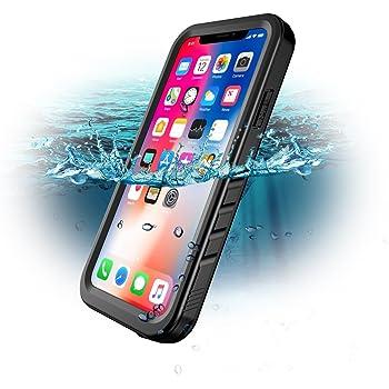 Custodia impermeabile iPhone X MOONMINI IP68 Certificato