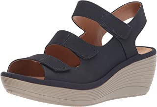8d8622c60edb FREE Shipping on eligible orders. Clarks Womens Clarks Reedly Juno Open Toe  Casual Platform Sandals