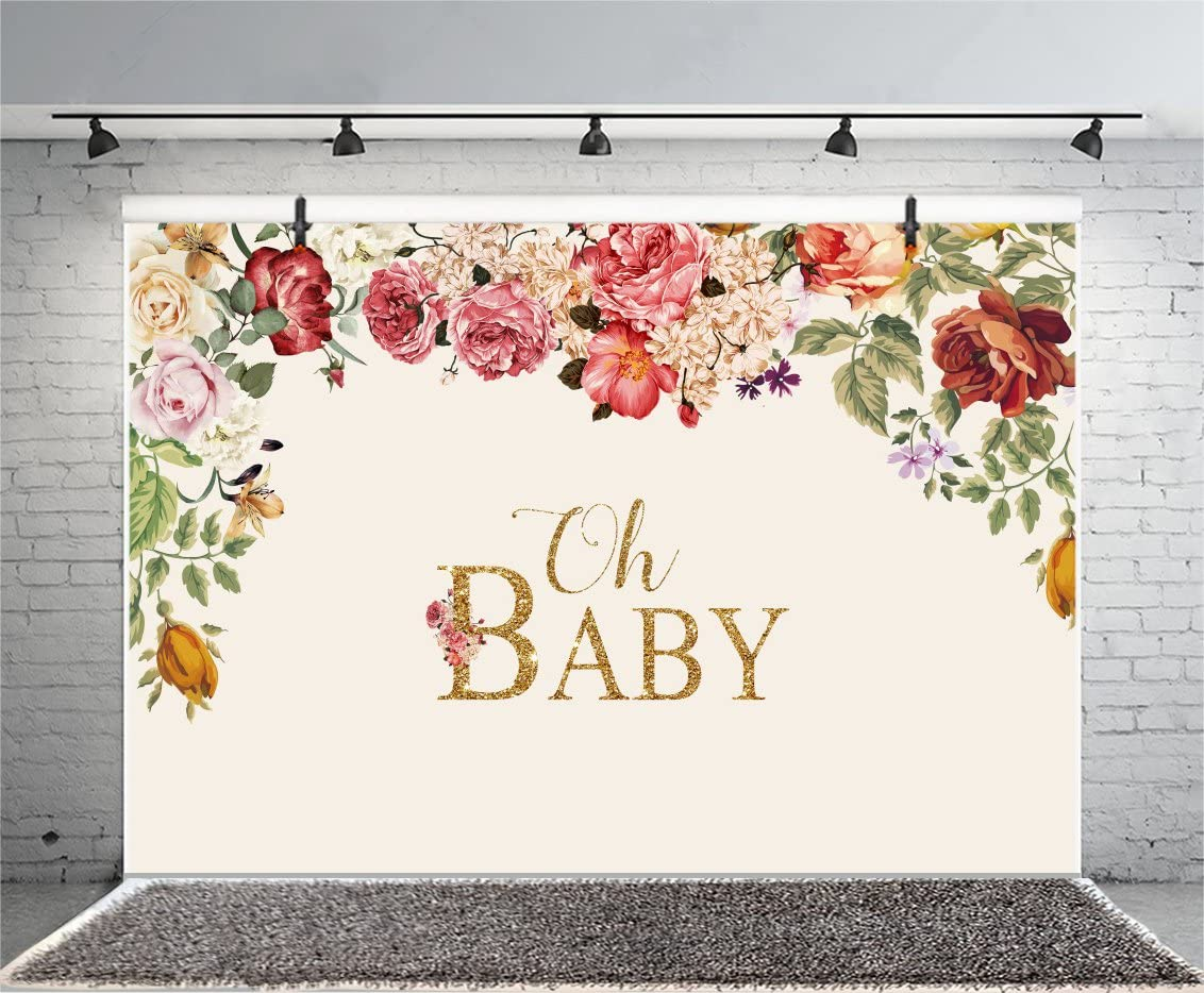 LUCKBTY 9x6ft Baby Girl 1st Birthday Party Photography Backdrop Banner Blossoms Dreamcatcher Shes Wild Customized Background Baby Shower Portrait Photo Shooting Props BJYYLU36