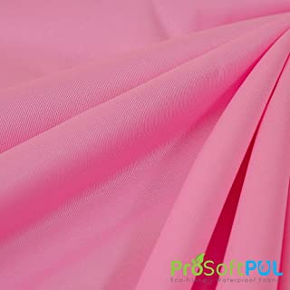 ProSoft Waterproof 2 mil PUL Fabric (Made in USA, Raspberry, sold by the yard)