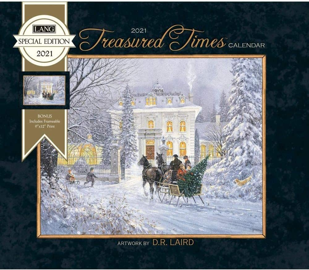 The Lang Companies Treasured Times Special Calenda Wall sale Selling and selling Edition