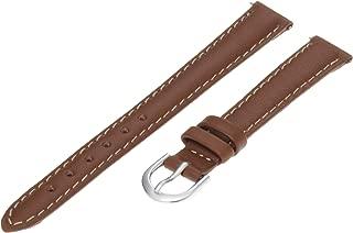 Timex Women's Q7B852 Padded Calfskin 12mm Brown Replacement Watchband