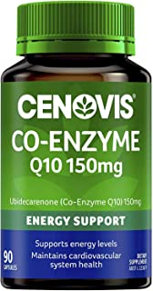 Cenovis Co-Enzyme Q10 150mg - A powerful antioxidant - Supports energy levels - Supports heart health, 90 Capsules