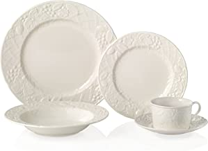 Mikasa English Countryside 5-Piece Dinnerware Set, Service for 1