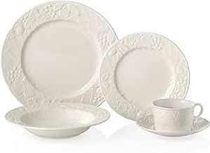 Mikasa English Countryside 40-Piece Dinnerware Set, Service for 8