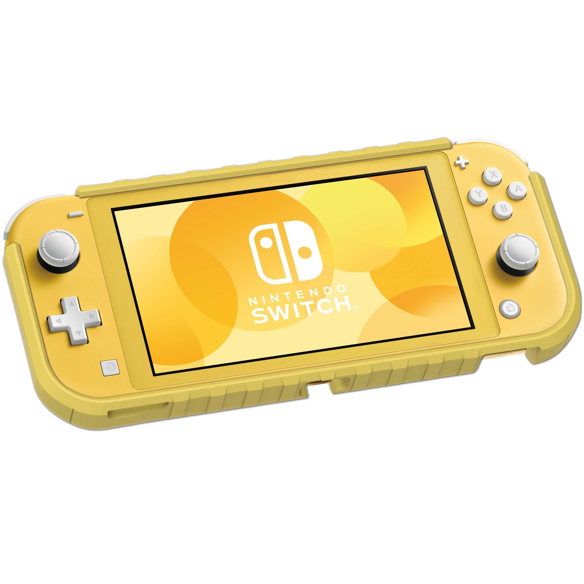 Hori - Carcasa híbrida amarilla (Nintendo Switch Lite): Amazon.es ...