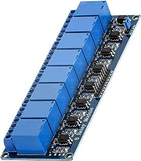 AZDelivery 8 canali modulo Relay 5V con optoaccoppiatore Low-Level-Trigger compatibile con Arduino incluso un Ebook!