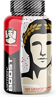 Victory Boost - First Dual-Action EPO Booster Endurance Supplement - Build More Red Blood Cells - For Men and Women - 120 Natural Veggie Pills