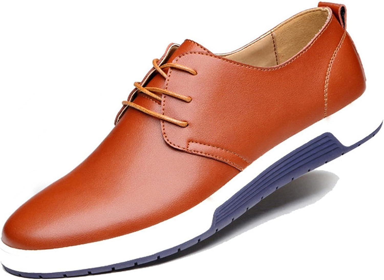 Gome -z skor män skor Casual Casual Casual läder Trendy svart blå bspringaaa Flat skor for män bspringaaa Casual skor 13  Beställ nu lägsta priser