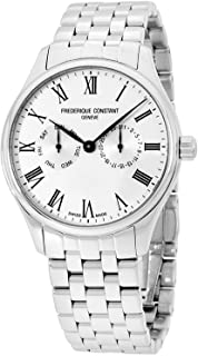 Frederique Constant Silver Dial Stainless Steel Men's Watch FC-259WR5B6B