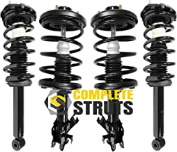 Front & Rear Quick Complete Struts & Coil Spring Assemblies Compatible with 2000-2001 Nissan Maxima (Set of 4)